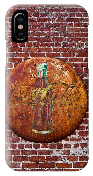 Antique Coke Sign 2 IPhone Case