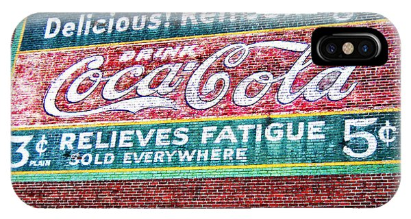 Antique Coke Sign IPhone Case