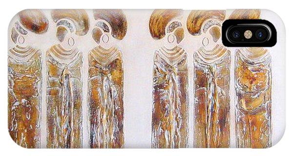 Antique Copper Zulu Ladies - Original Artwork IPhone Case