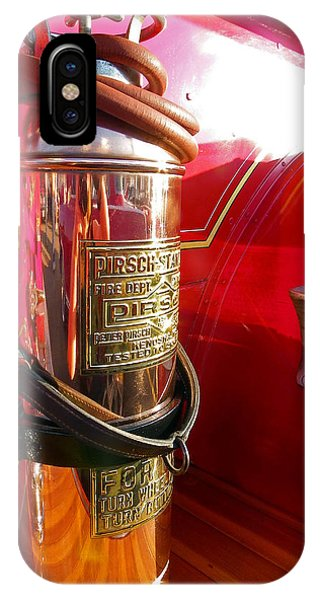 Antique Fire Extinguisher IPhone Case