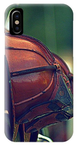 Antique Fireman Helmets IPhone Case
