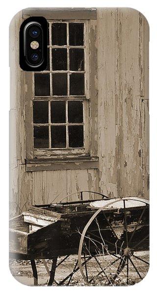 Antique Hay Cart IPhone Case