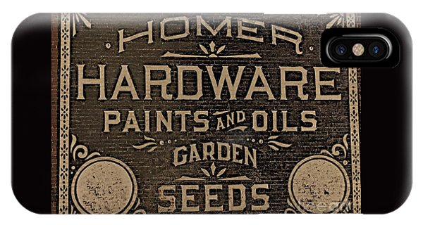 Antique Homer Hardware IPhone Case