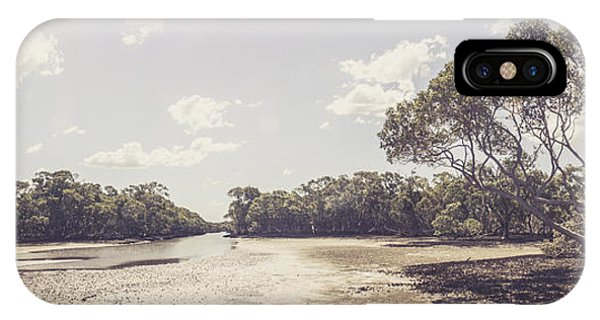 Qld iPhone Case - Antique Mangrove Landscape by Jorgo Photography - Wall Art Gallery