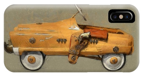 Antique Pedal Car L IPhone Case