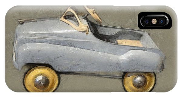 Antique Pedal Car Ll IPhone Case