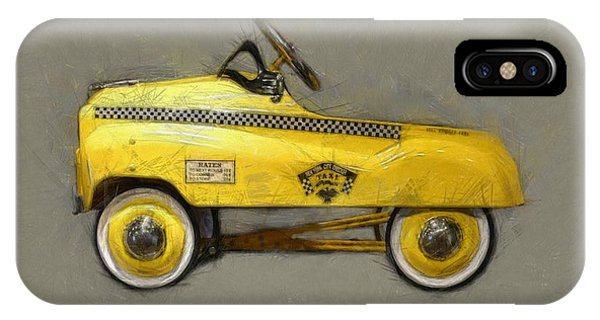 Antique Pedal Car Lll IPhone Case