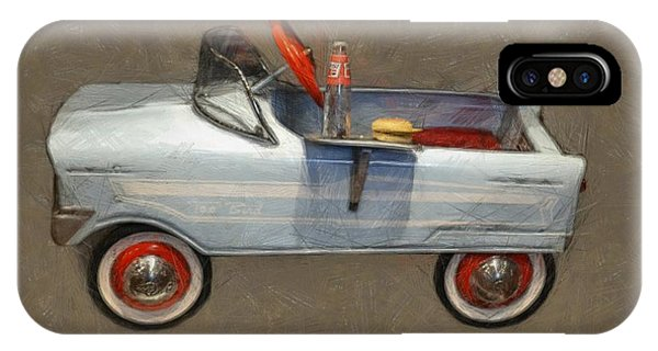 Antique Pedal Car Lv IPhone Case