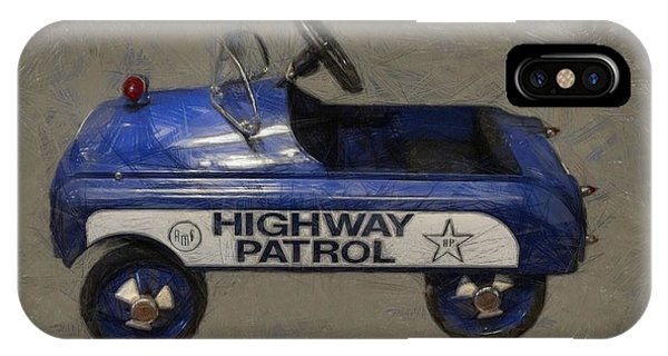 Antique Pedal Car V IPhone Case