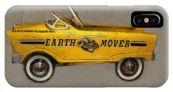 Antique Pedal Car Vl IPhone Case
