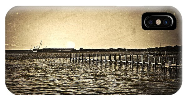 Antique Photo Of Pier  IPhone Case