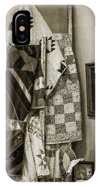 Antique Quilts IPhone Case