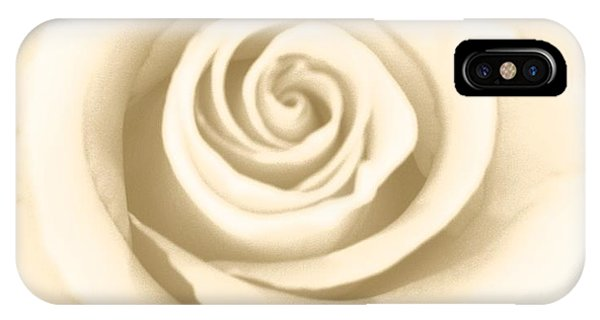 IPhone Case featuring the photograph Antique Rose by Marian Palucci-Lonzetta