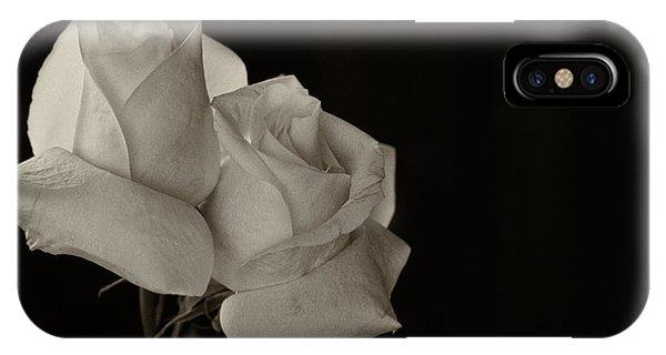 Antique Roses IPhone Case
