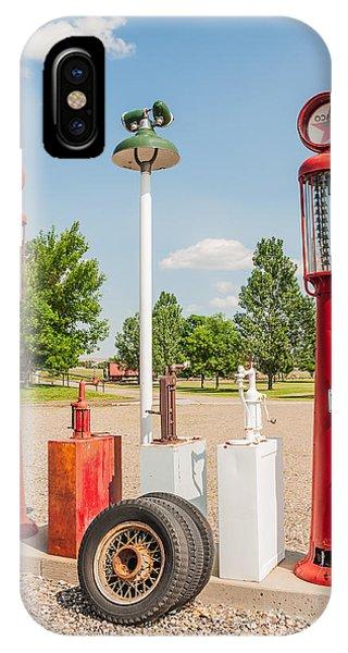 Antique Texaco Pumps IPhone Case