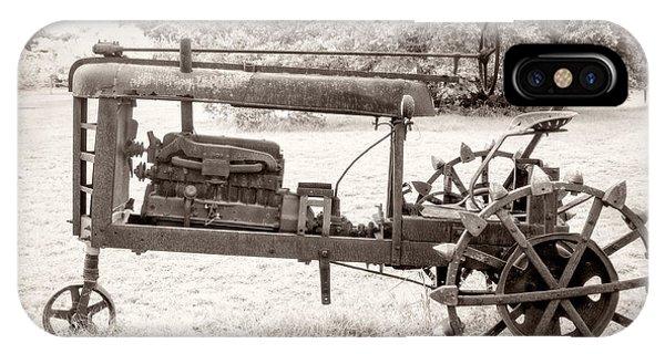 Antique Tractor IPhone Case