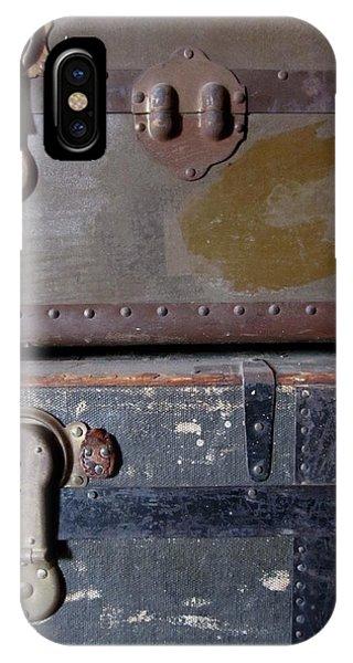 Antique Trunks 5 IPhone Case