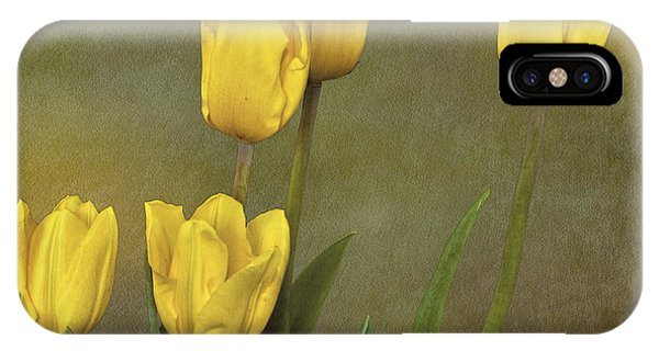 Antique Tulip Bouquet IPhone Case