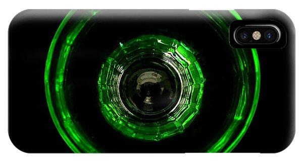 Bullseye Vaseline Glass IPhone Case