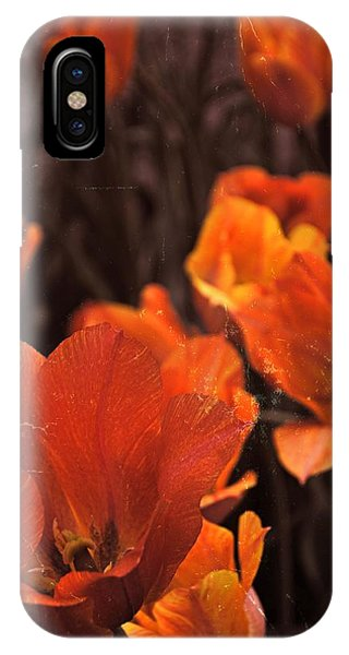 Antiqued Tulips IPhone Case
