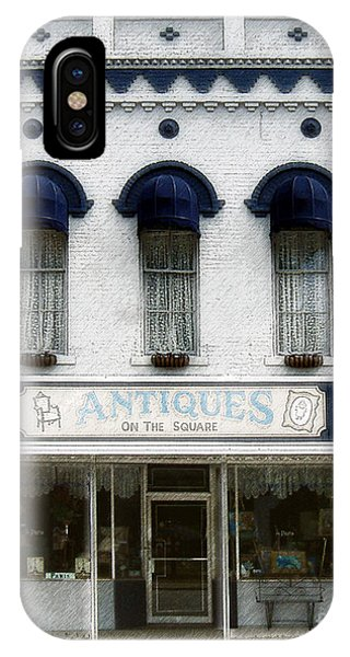 Antiques On The Square IPhone Case