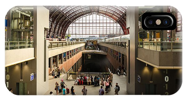 Antwerp-centraal Station IPhone Case