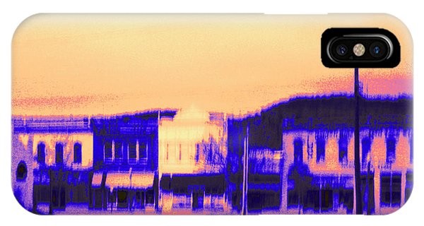 Anytown Evening IPhone Case