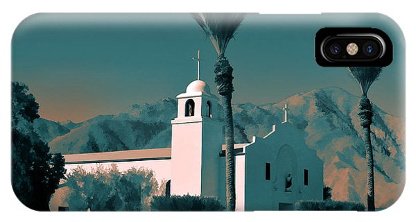Anza Borrego Desert Church IPhone Case