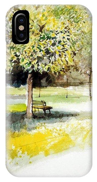 Autumn Shadows Phone Case by Lorand Sipos