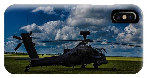 Apache Gun Ship IPhone Case