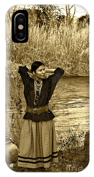 Apache River Maiden IPhone Case