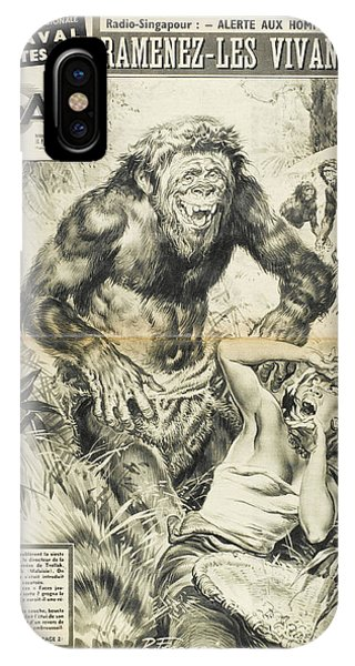 Apemen, Scary In Appearance But Really by Mary Evans Picture Library