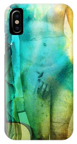 Texture iPhone Case - Aphrodite's First Love - Guitar Art By Sharon Cummings by Sharon Cummings