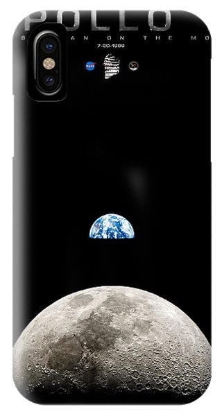 Apollo 11 First Man On The Moon IPhone Case