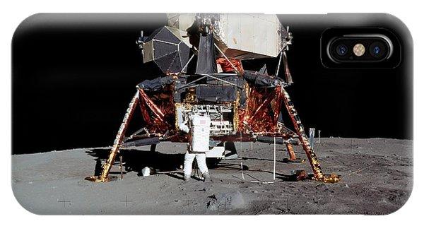 Spaceflight iPhone Case - Apollo 11 Lunar Module by Nasa/detlev Van Ravenswaay
