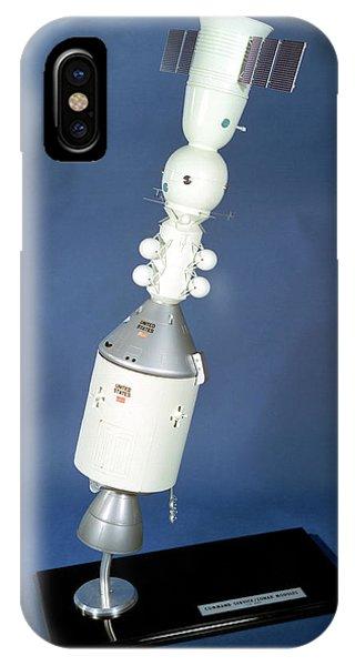 Spaceflight iPhone Case - Apollo Soyuz Test Project Model by Nasa/glenn Research Center (nasa-grc)