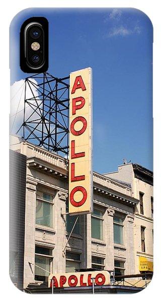 Apollo Theater iPhone Case - Apollo Theater by Martin Jones