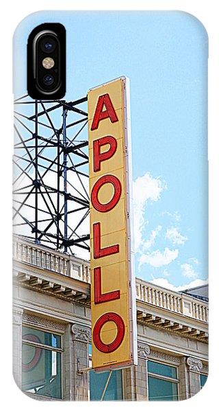 Apollo Theater iPhone Case - Apollo Theater Sign by Valentino Visentini