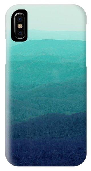 Aqua iPhone Case - Appalachian Mountains by Kim Fearheiley