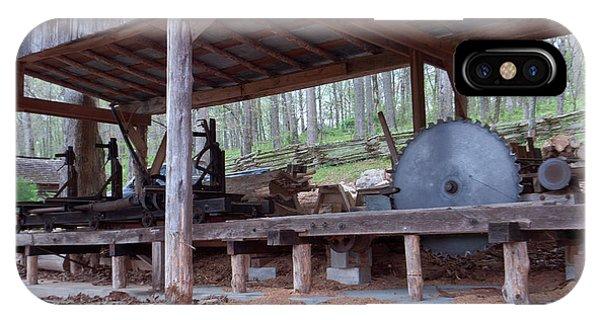 Appalachian Saw Mill IPhone Case