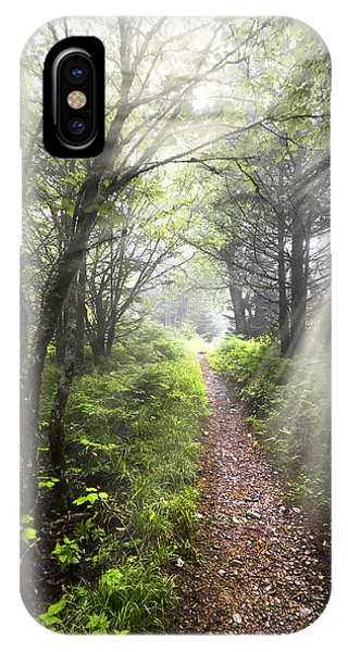 Nc iPhone Case - Appalachian Trail by Debra and Dave Vanderlaan