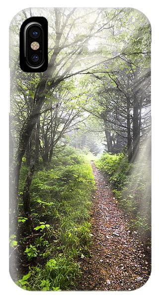 iPhone Case - Appalachian Trail by Debra and Dave Vanderlaan