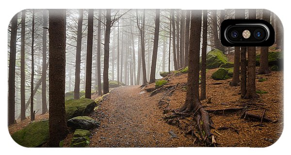 Appalachian Trail Landscape Photography In Western North Carolina IPhone Case