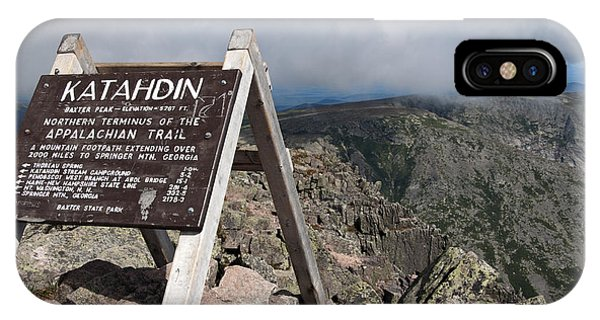 Appalachian Trail Mount Katahdin IPhone Case