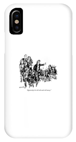 Apparently, He's Old Rock-and-roll Money IPhone Case