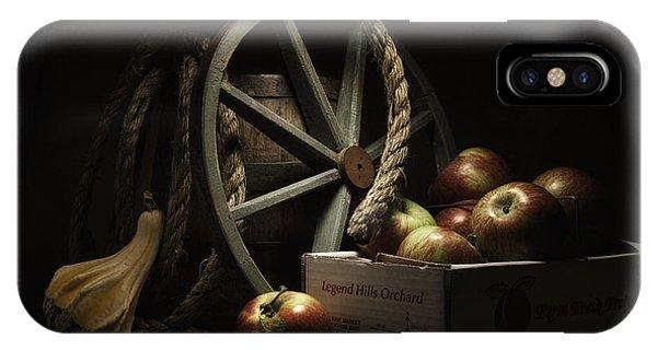 Agriculture iPhone Case - Apple Basket Still Life by Tom Mc Nemar