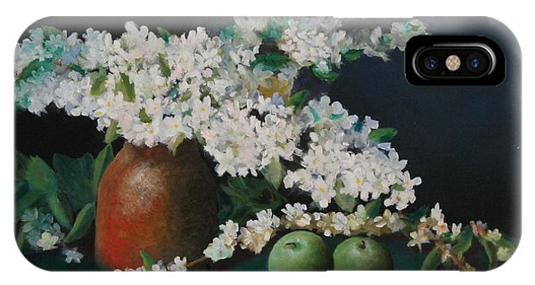 Apple Blossom Time IPhone Case