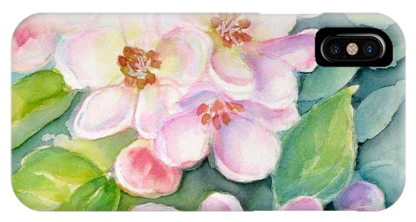 Apple Blossoms 1 IPhone Case