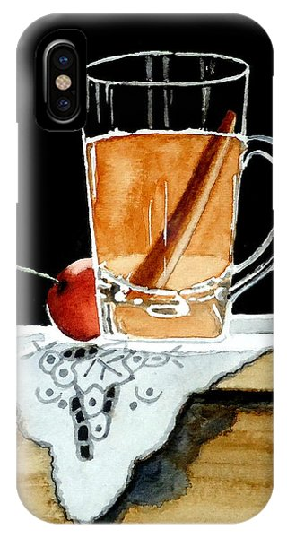 Apple Cinnamon Tea With Mug IPhone Case
