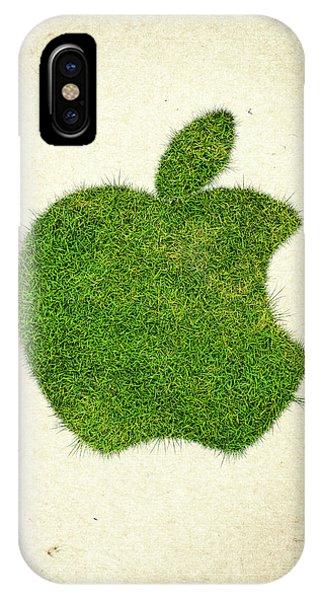 Apple Grass Logo IPhone Case